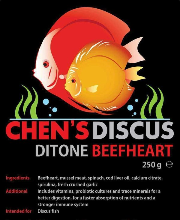 Chens-Ditone orginal beefheart mix 1500g (6 packs)